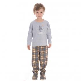 Pijama de inverno Coleção Família baby menino Victory