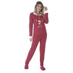 Pijama de inverno feminino CHARME Victory