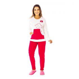 Pijama de inverno feminino KANGURU LEGGING Victory