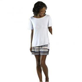 Pijama feminino curto verão adulto Lupo ref.24085 -