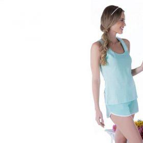 Pijama feminino de verão Victory pijama curto