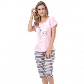 Pijama feminino pescador para o verão Victory