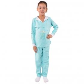 Pijama infantil de inverno para menina CHARME Victory
