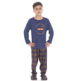 Pijama infantil para menino de inverno TOP Victory