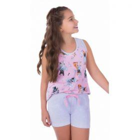 Pijama infantil verão feminino Victory ref.1735