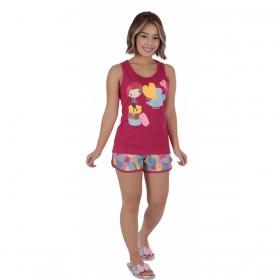Pijama juvenil para menina de verão nadador Victory
