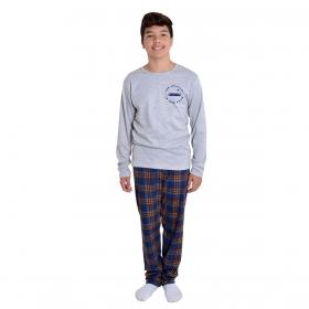 Pijama juvenil para menino de inverno TOP Victory
