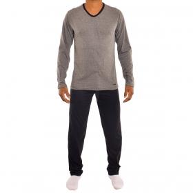 Pijama masculino para o inverno em algodão Mash