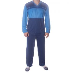 Pijama para o inverno masculino calça lisa Victory