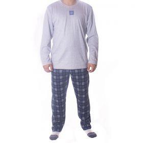 Pijama para o inverno masculino xadrez Victory
