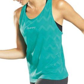 Regata feminina sem costura para academia - camiseta fitness Lupo -