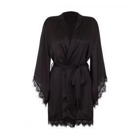 Robe em cetim Loungewear Liebe
