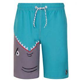 Short Infantil Masculino Estampado Lupo Kids Beachwear