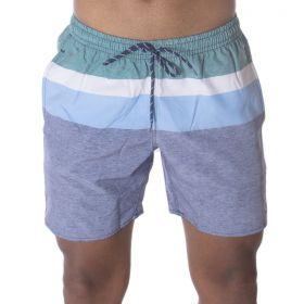 Short Masculino Listrado Lupo Beachwear .