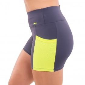 Shorts feminino fitness com bolso Selene
