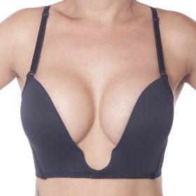 Sutiã decote profundo efeito silicone mágico push up Vi lingerie