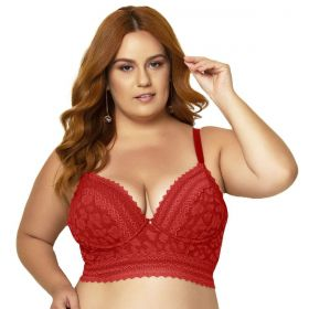 Sutiã Plus Size Corpete Linha Única Nayane Rodrigues