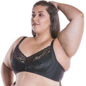 Sutiã Plus Size Linha Charme Sem Bojo Nayane Rodrigues Ref. SP1041
