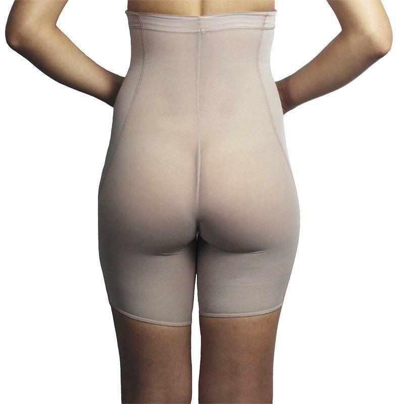Bermuda feminina modeladora com cintura alta e compressão Liebe  -