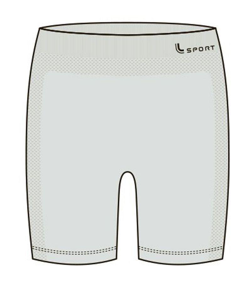 Bermuda Feminina térmica Compressão Emana kit 10 Lupo