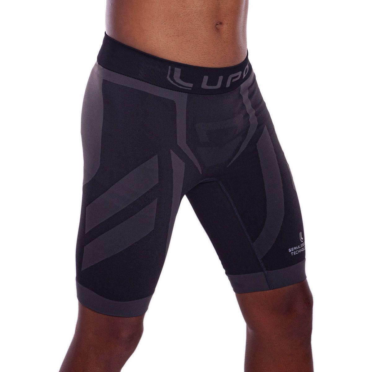 Bermuda masculina com compressão para corrida e atividades físicas Lupo -
