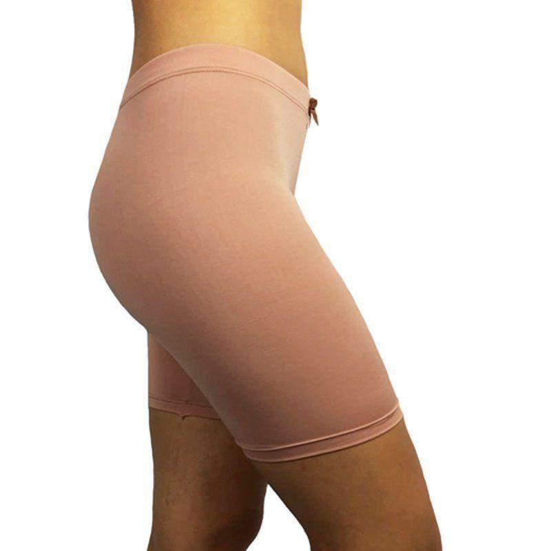 Bermuda para usar com vestido curto - anágua da marca Fina estampa