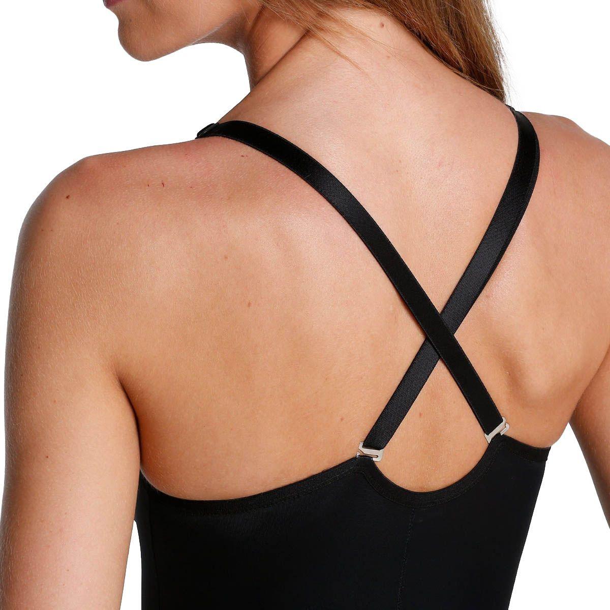 Body Modelador Com Bojo E Alça Flex Zero Barriga Dilady