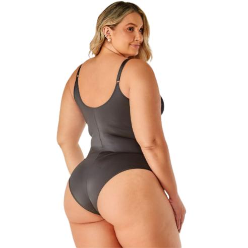 Body Modelador Plus size sem bojo Vi Lingerie
