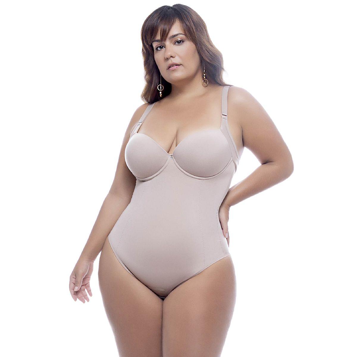 Body Plus Size Com Bojo Magic Nayane Rodrigues