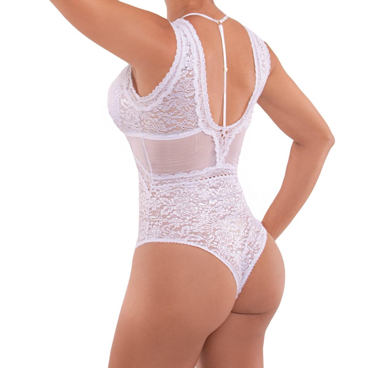 Body rendado sensual Nayane Rodrigues