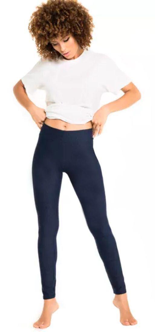 Calça Legging Com Efeito Jeans Feminino Adulto Trifil
