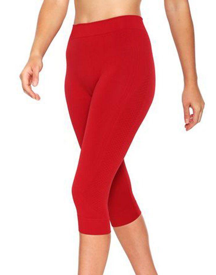 Calça legging corsário para academia fitness feminina Lupo