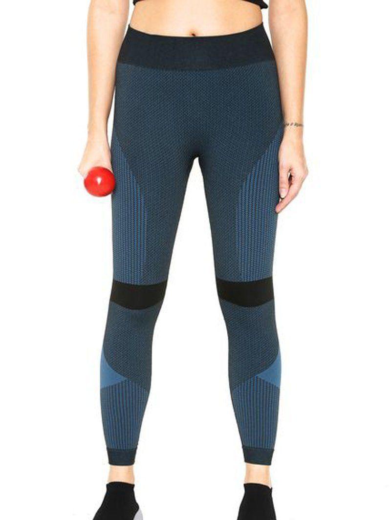 Calça legging feminina com compressão para academia Lupo 71702