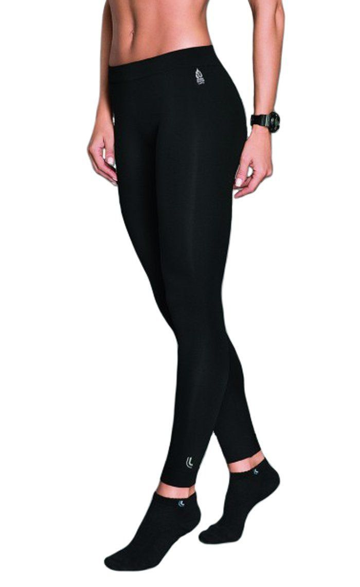 Calça legging feminina térmica e sem costura para academia WARM Lupo
