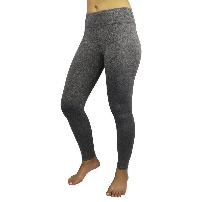 Calça Legging Fitness Mescla Feminina Primeira Hora-