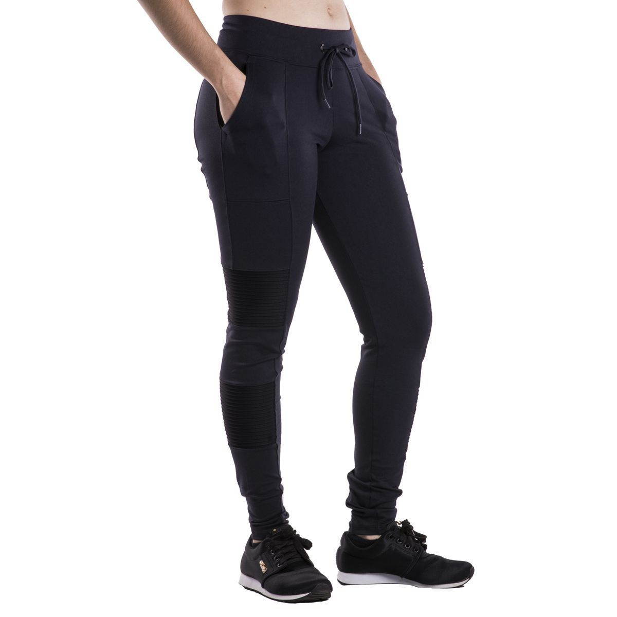 Calça Legging Lupo Sport Feminina Nervuras Fitness .