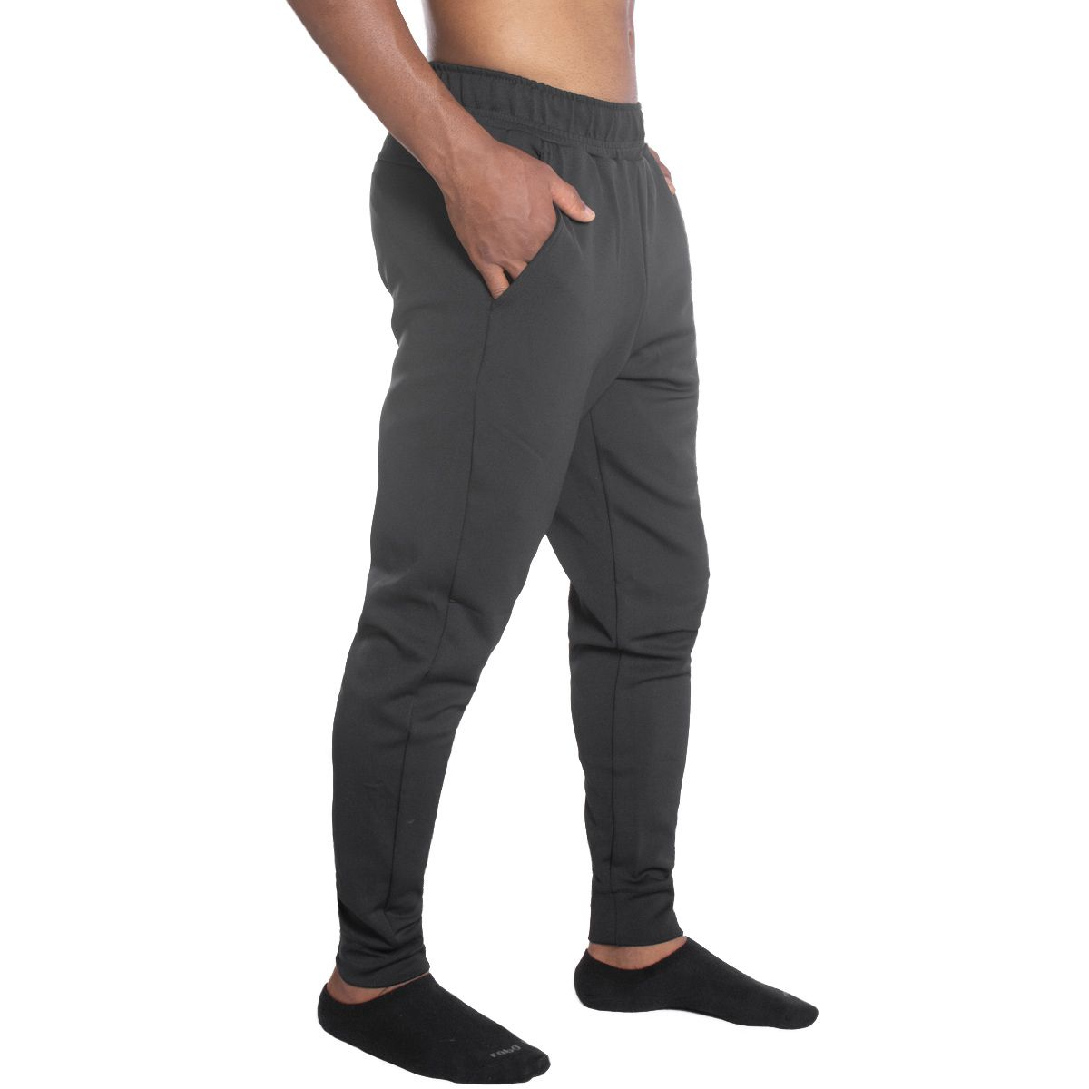 Calça masculina com punho para academia fitness Lupo .