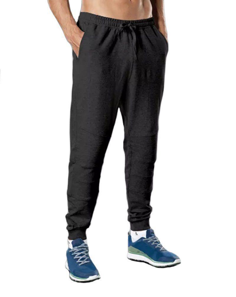 Calça masculina de moletom para academia fitness Lupo -