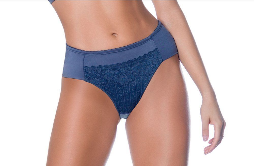 Calcinha feminina cintura alta tanga com renda Nayane Rodrigues CA494 -