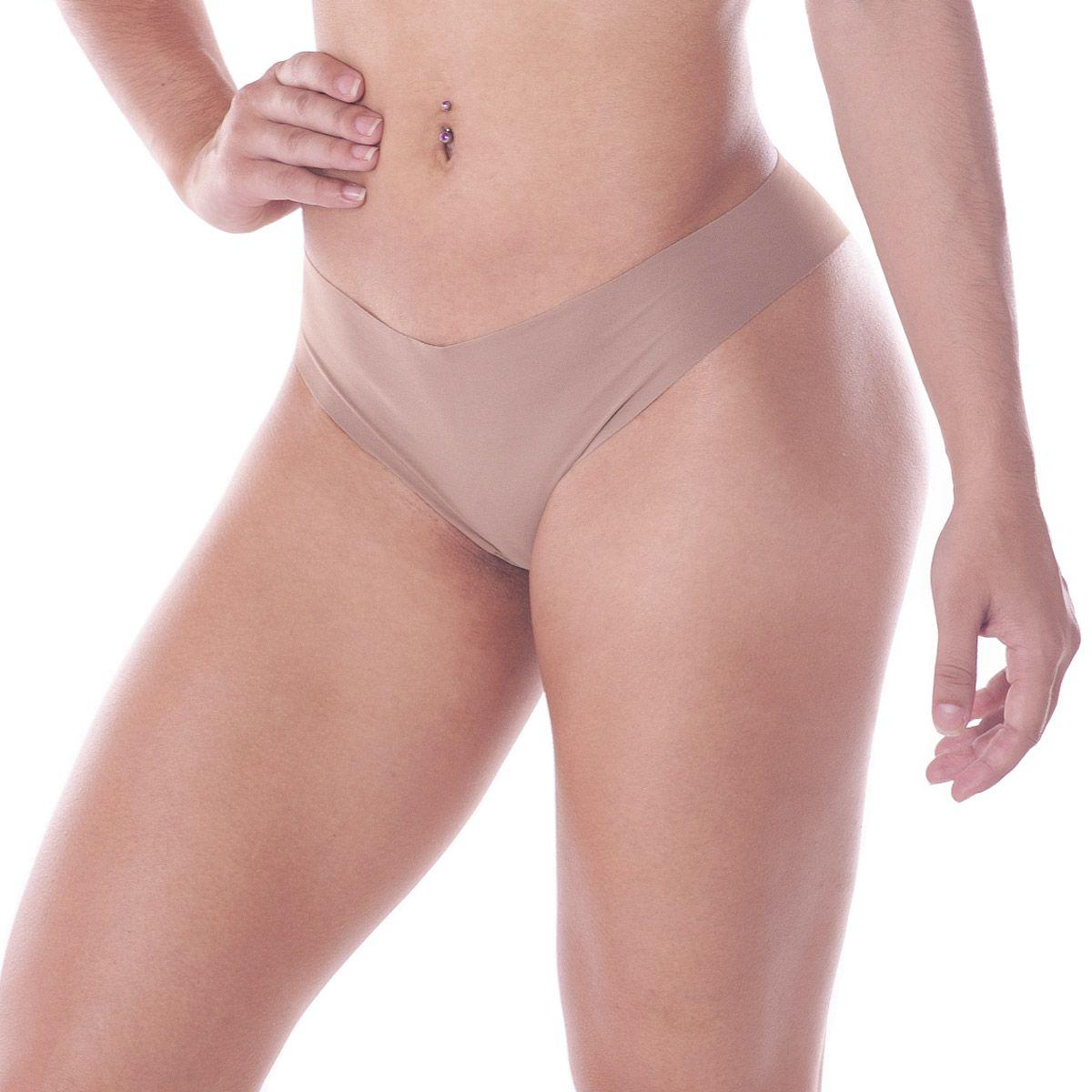 Calcinha Feminina De Microfibra Modelo Tanga Sem Costura Trifil