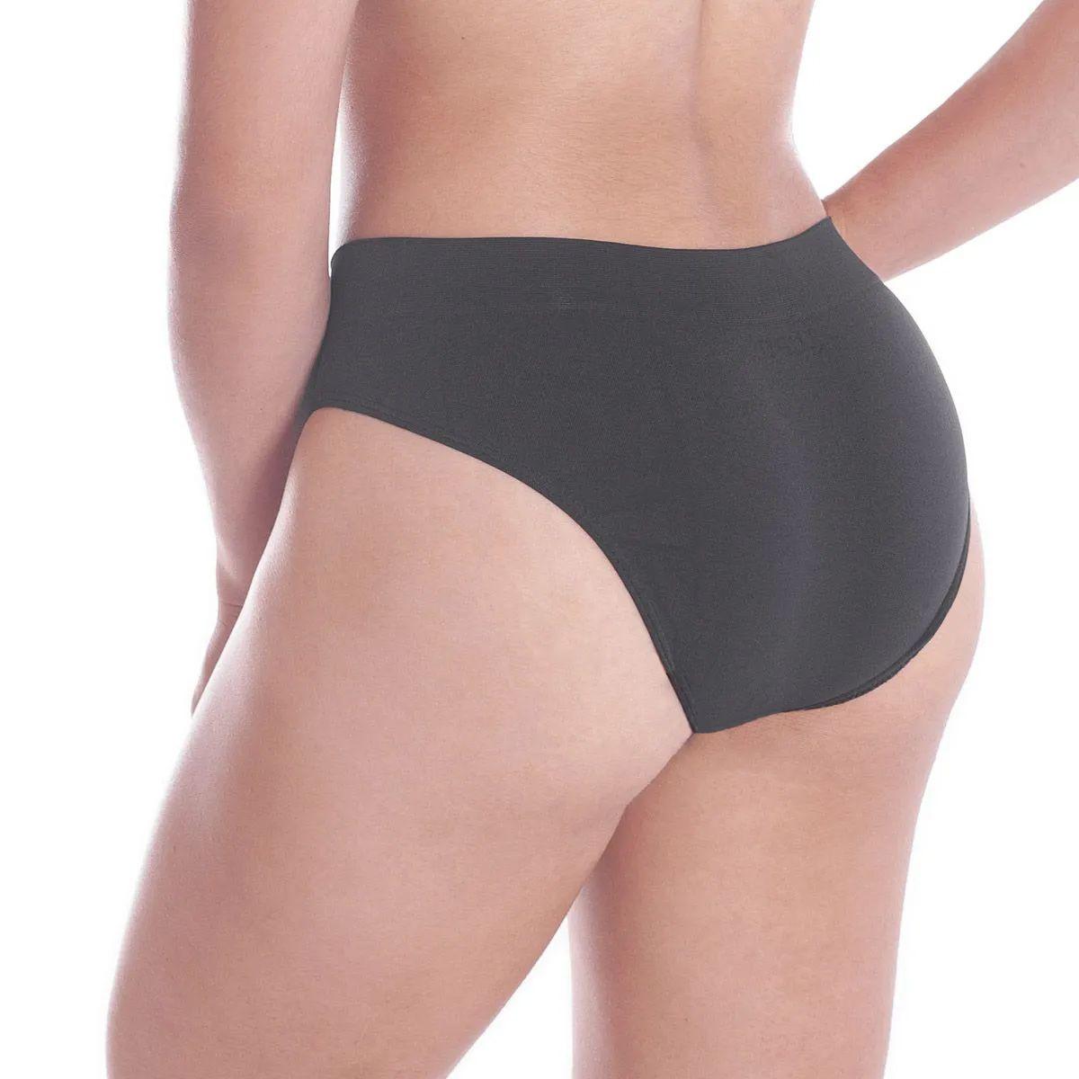 Calcinha microfibra cós largo moda intima lingerie tanga feminina Loba Lupo