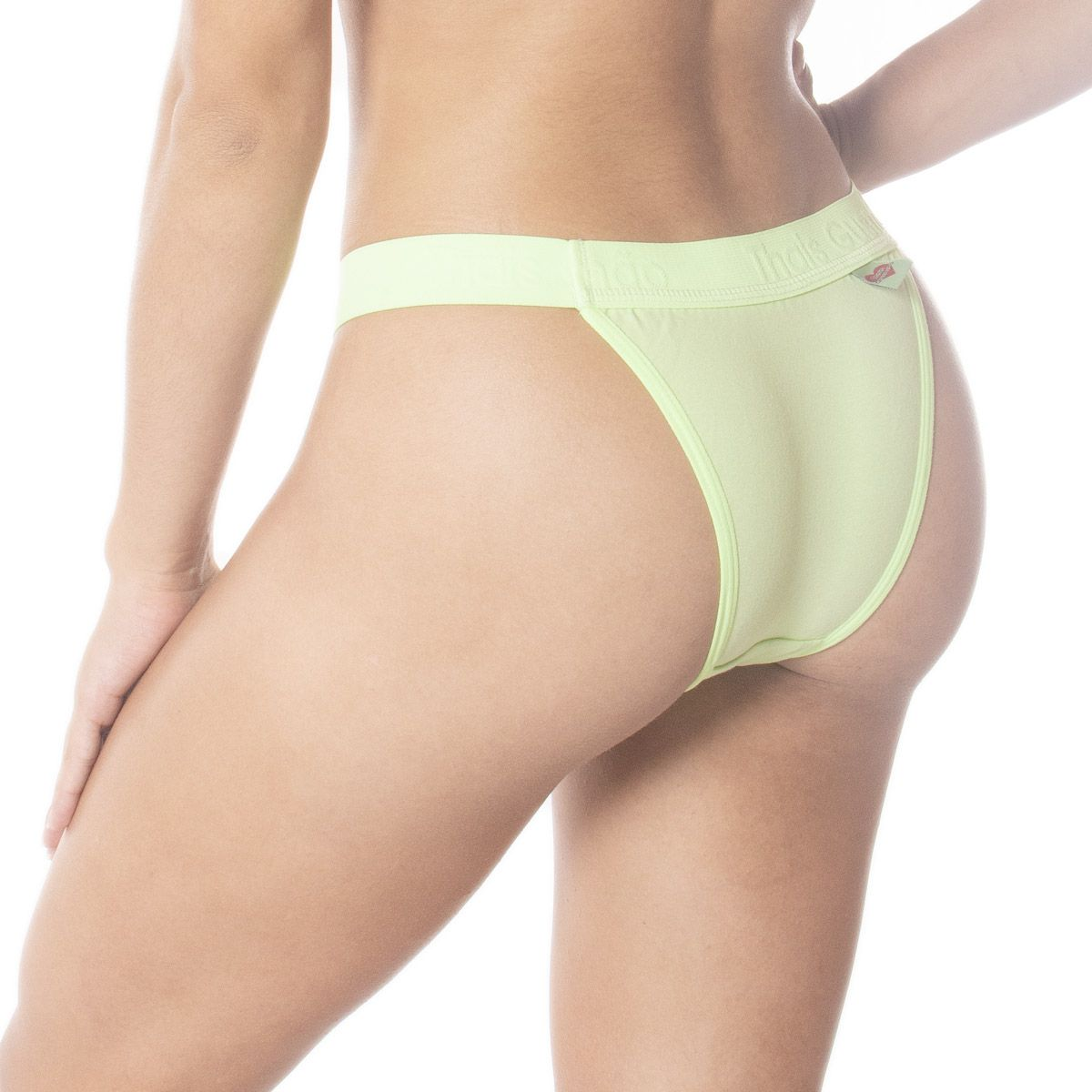 Calcinha modelo tanga algodão Neon  -