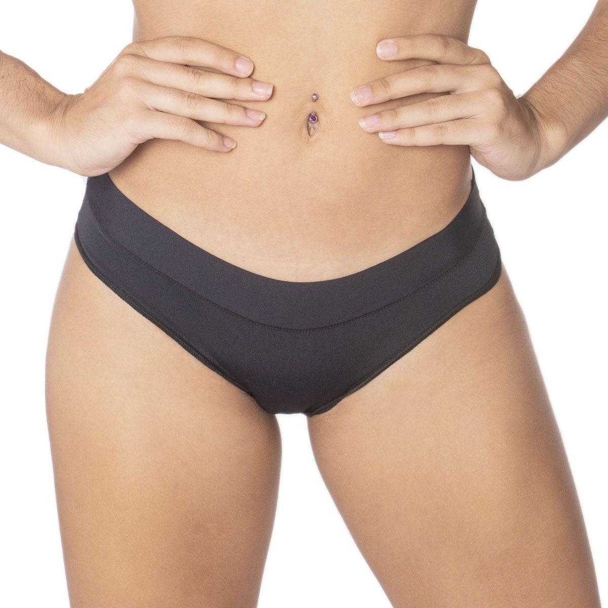 Calcinha modelo tanga cós com tecido duplo Nayane Rodrigues