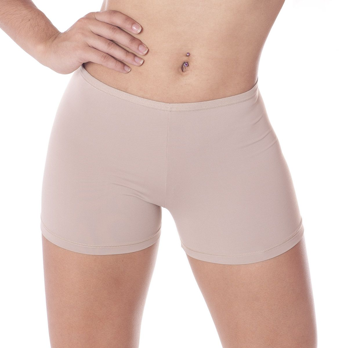 Calcinha Short Moda Intima Lingerie shortinho cueca feminina Leluc -