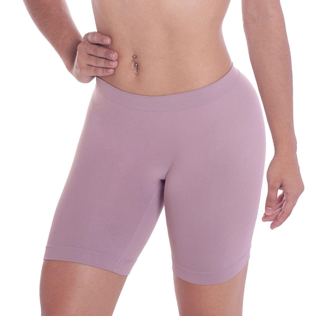 Calcinha shorts boxer sem costura moda intima feminina Loba Lupo