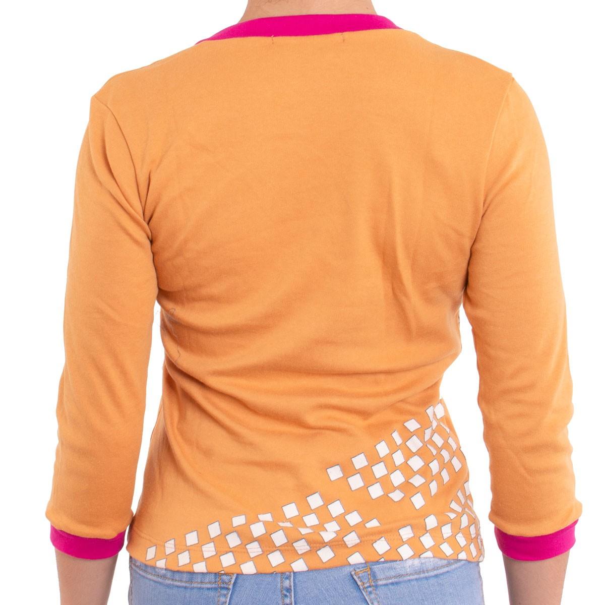 Camiseta Feminina 3/4 Transportadora  -