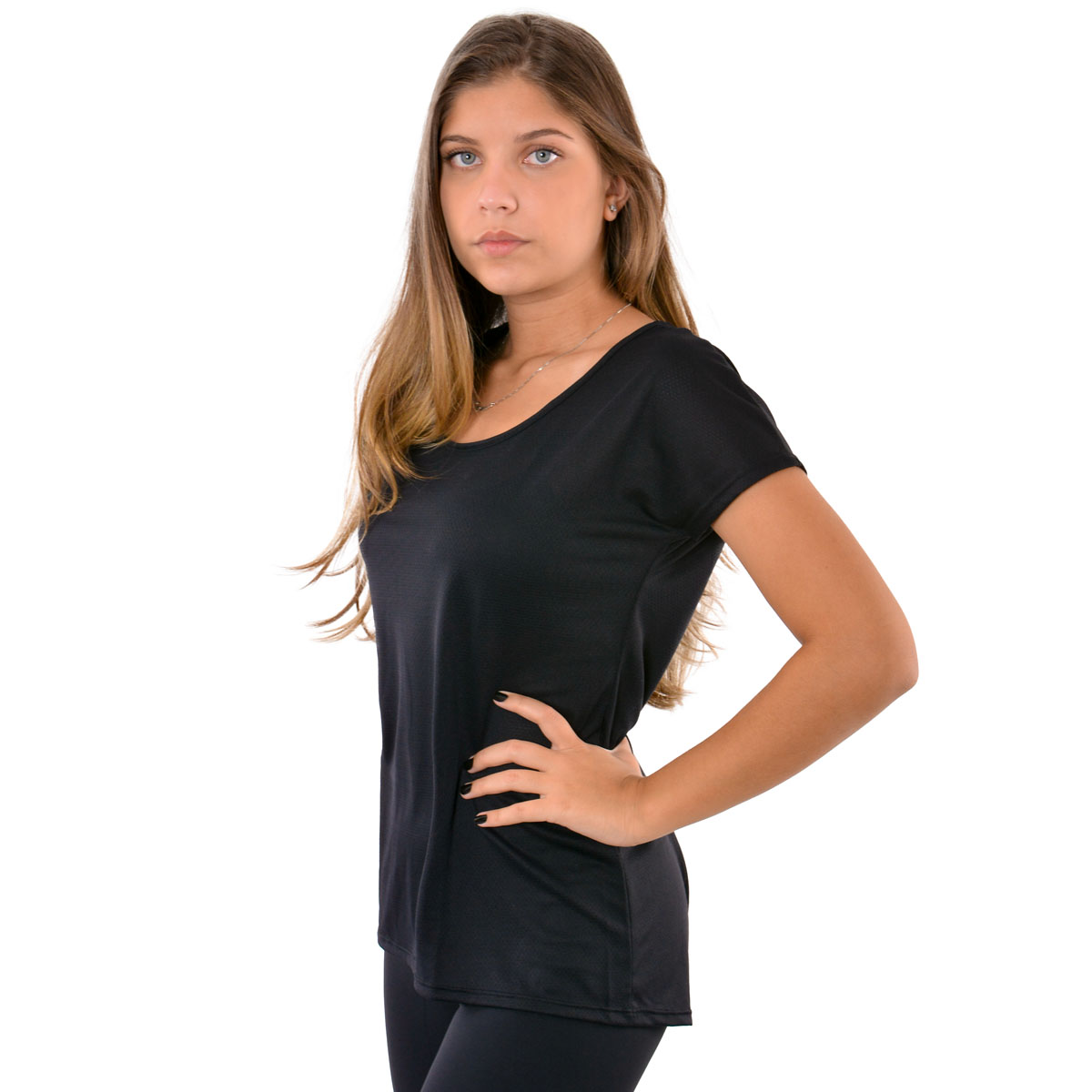 Camiseta feminina Dry Fit Selene