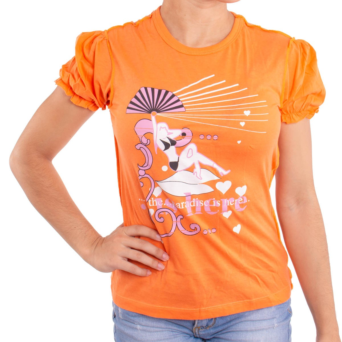 Camiseta Feminina Neo Paradise Is Here  -