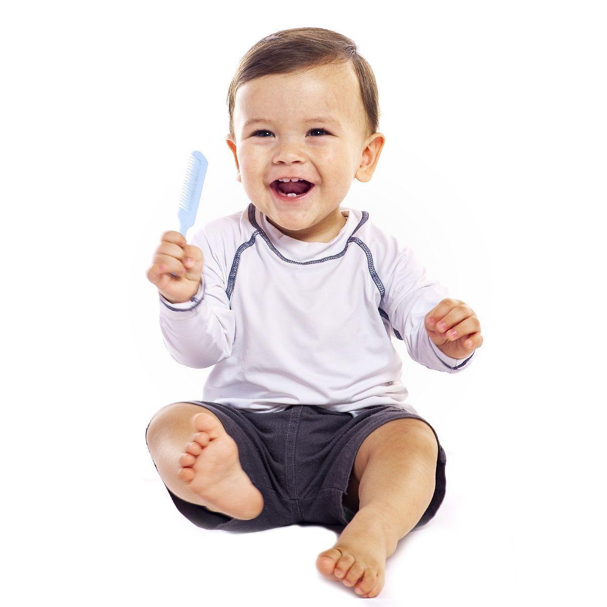 Camiseta Lupo Infantil Manga Longa com Proteção UV 50+ Unissex