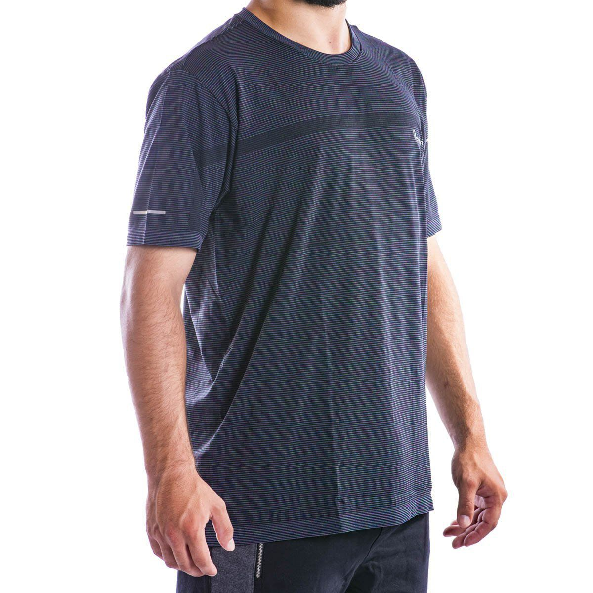 Camiseta Lupo Masculina - T Shirt Tri Listras -